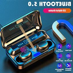 2020 TWS Wireless Bluetooth 5.0 Headset Earphones Mini Stere