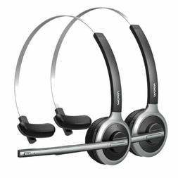 2Pack Mpow Bluetooth Wireless Headset Headphones for Driver
