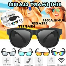2020 Polarized bluetooth Sunglasses Headphones With Stereo S