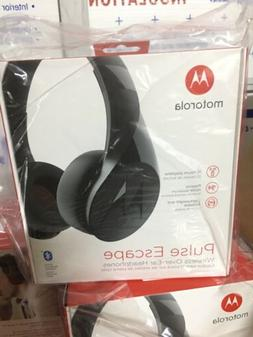 Motorola MT-SH012-BK Pulse Escape Wireless Over-Ear Headphon