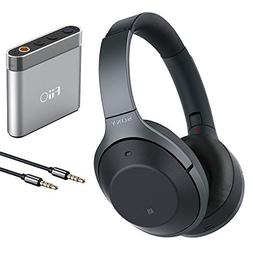 Sony WH1000XM2 Noise Cancelling Headphones with FiiO A1 Silv