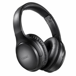 Active Noise Cancelling Headphones, Boltune Bluetooth 5.0 Ov