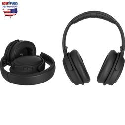 ANC Wireless Over-Ear Bluetooth Headphones BLACK XQISIT oE40