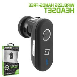 """Cellet Black Mini Wireless Headset for LG""""Stylo 4"""" and Other"""
