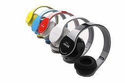 Black/Red/Whie/Blue/Red Bluetooth Headphones for All Cell Ph