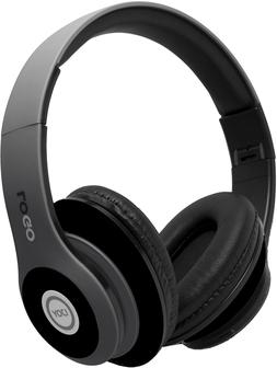iJoy Matte Finish Premium Rechargeable Wireless Headphones B