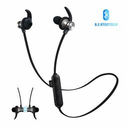 Bluetooth 5.0  Headphones Wireless Earbuds TF Card Playback