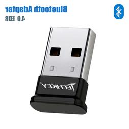 TECHKEY Bluetooth Adapter for PC USB Bluetooth Dongle 4.0 ED