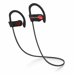 SENSO Bluetooth Headphones Wireless Sports Earphones w/ Mic