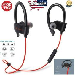bluetooth headphones best wireless sports earphones w