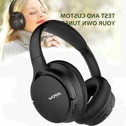 MPOW Bluetooth Headphones Mic Over Ear Wireless Headset Spor