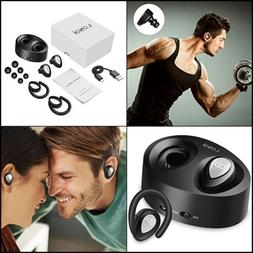 Bluetooth Headphones Wireless Earbuds Mini Stereo Headset V4