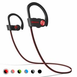 Letscom Bluetooth Heads Ipx7 Waterproof, Wireless Sport Ears