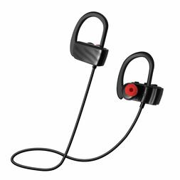 Bluetooth Noise Cancelling Earbuds w/ Microphone Black IPX4