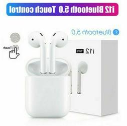 Wireless Bluetooth Headset Earbuds Compatible with Apple and