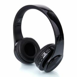Bluetooth Wireless Headphones Over Ear Stereo Bass Noise Can
