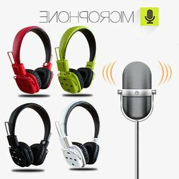 bluetooth wireless headphones stereo foldable headsets