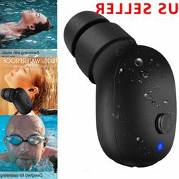 Bluetooth Wireless Waterproof HD Stereo Earphone Earbud Spor