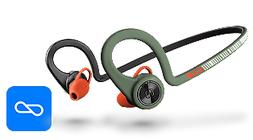 *BRAND NEW* Plantronics Backbeat Fit Stealth Green