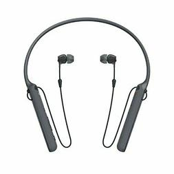 Sony - C400 Wireless Behind-Neck in Ear Headphone Black