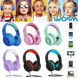 Mpow CH6S Kids Headphones On-Ear Foldable Headset Stereo for
