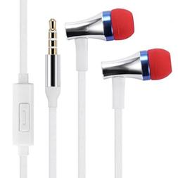 Compatible with Stylo 4 Plus - Premium Sound Earbuds Hands-F