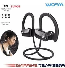 Mpow D7 Bluetooth Headset Richer Bass Headphones Sports Earb