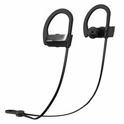 Mpow D7 Upgraded Bluetooth Headphones IPX7 Waterproof Real H