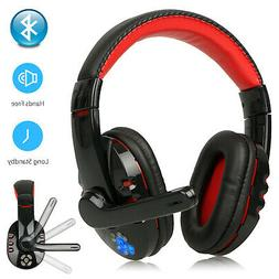 Wireless Bluetooth Gaming Headset Headphones for Samsung iPh