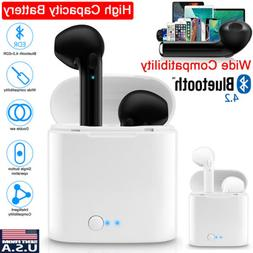 Dual Wireless Bluetooth Earbuds Earphones For Android IOS Un