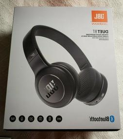 JBL Duet bt Wireless Over-Ear Headphones Black brand new and