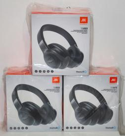 Brand New JBL E55BT BLACK Wireless Over-Ear Headphones, One-