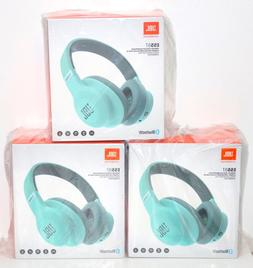 JBL E55BT Over-Ear Wireless Headphones Teal Brand New