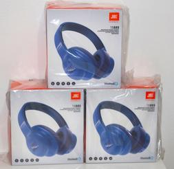 JBL E55BT Wireless Bluetooth Over-Ear Headphones - Blue Bran