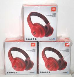 JBL E55BT Wireless Bluetooth Over-Ear Headphones - Red Brand