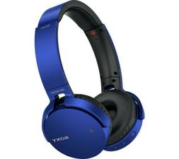 Sony Extra Bass Bluetooth Wireless Headphones, Rechargeable,