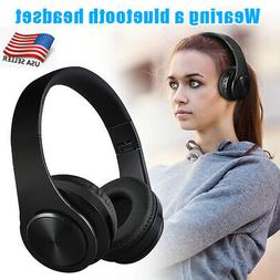 Gaming Wireless Bluetooth Headsets Headphone Stereo with Mic