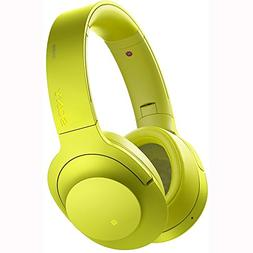 Sony h.ear on MDR-100ABN Headset - Stereo - Lime Yellow - Mi