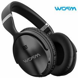 Mpow H5 Active Noise Cancelling Headphones Over Ear Wireless