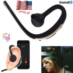 Handsfree Bluetooth Headset Headphone With Mic For Cell Phon