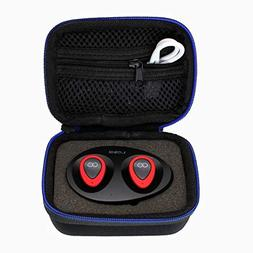 Hard Travel Case Bag for Losei/WOWOGO Dual Wireless Earbuds