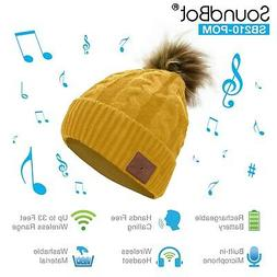 SoundBot HD Stereo Bluetooth 4.1 Wireless Musical Knit Headp