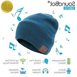 SoundBot HD Stereo Bluetooth 4.1 Wireless Smart Beanie Heads