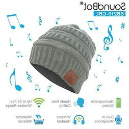 SoundBot HD Stereo Bluetooth Wireless Musical Knit Headphone