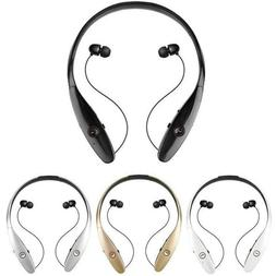 Headphone Neckband Bluetooth Wireless Headset Retractable fo
