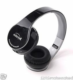 Black Wireless Stereo Bluetooth V4.0 Headphones fit for smar