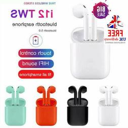 i12 TWS INPODS BLUETOOTH 5.0 Wireless Headphones Airpods For