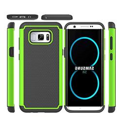 JECCE phone case for samsung galaxy s8 case,Shockproof Dual