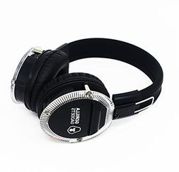 Bluetooth + IR Headphones Over Ear, Hi-Fi Stereo Wireless He