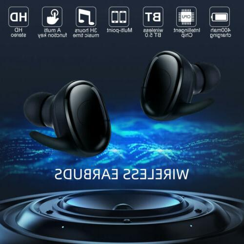 2019 New Bluetooth Headphone Charging Case Earbuds